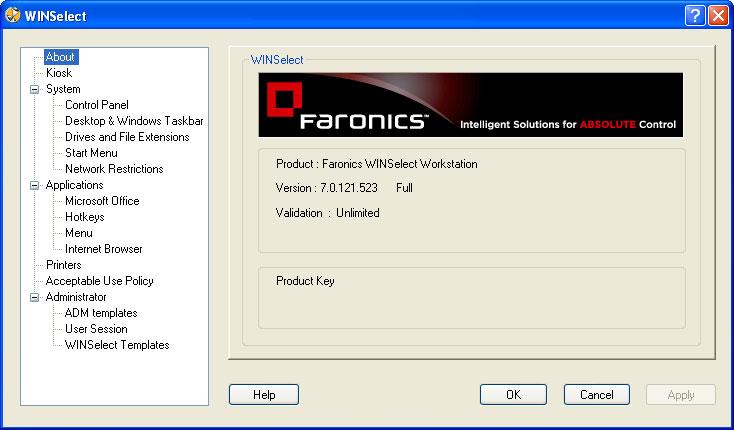 Windows 7 WINSelect 7.3 full